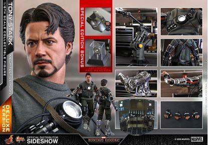 Picture of Iron Man Figura Movie Masterpiece 1/6 Tony Stark (Mech Test Deluxe Version) 30 cm RESERVA