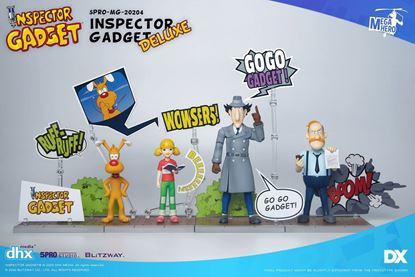 Picture of Inspector Gadget Figuras 1/12 Mega Hero Inspector Gadget 17 cm