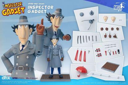 Picture of Inspector Gadget Figura 1/12 Mega Hero Inspector Gadget 17 cm