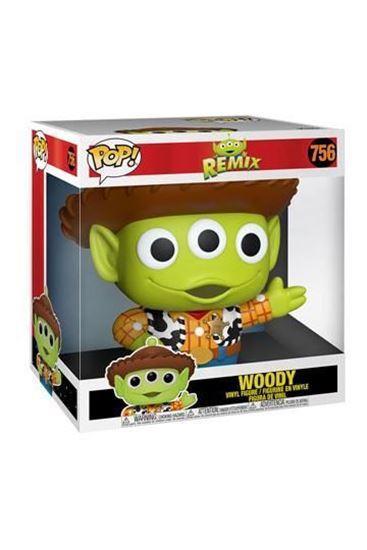 Picture of Toy Story Super Sized POP! Disney Vinyl Figura Alien as Woody 25 cm