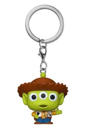 Picture of Toy Story Llavero Pocket POP! Vinyl Alien as Woody 4 cm DISPONIBLE ENERO 2021