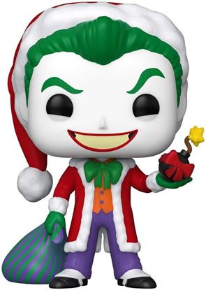 Picture of DC Comics Figura POP! Heroes Vinyl DC Holiday: The Joker as Santa 9 cm. DISPONIBLE APROX: NOVIEMBRE 2020