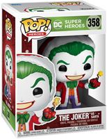 Picture of DC Comics Figura POP! Heroes Vinyl DC Holiday: The Joker as Santa 9 cm. DISPONIBLE APROX: NOVIEMBRE 2020