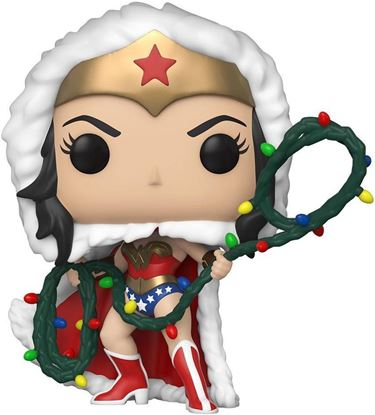 Picture of DC Comics Figura POP! Heroes Vinyl DC Holiday: Wonder Woman with String Light Lasso 9 cm