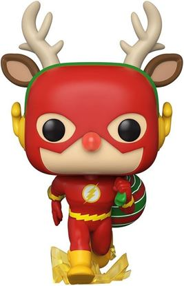 Picture of DC Comics Figura POP! Heroes Vinyl DC Holiday: The Flash Holiday Dash 9 cm