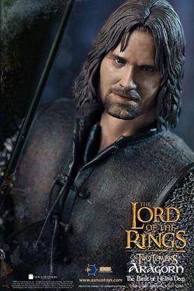 Picture of El Señor de los Anillos Figura 1/6 Aragorn at Helm's Deep 30 cm