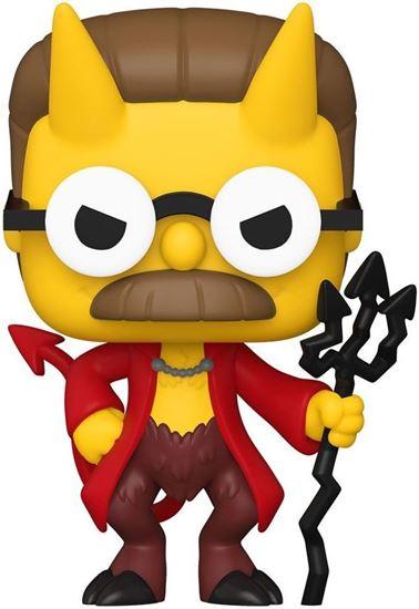 Picture of Los Simpson Figura POP! Animation Vinyl Devil Flanders 9 cm.