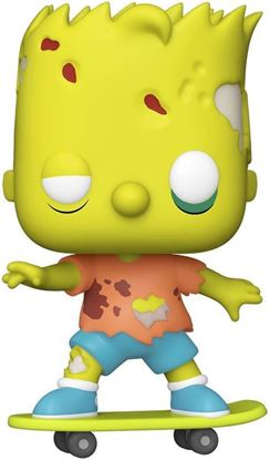 Picture of Los Simpson Figura POP! Animation Vinyl Zombie Bart 9 cm