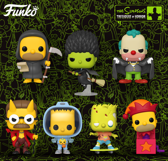 Picture of Pack 7 Figuras POP! Los Simpson Treehouse of Horror