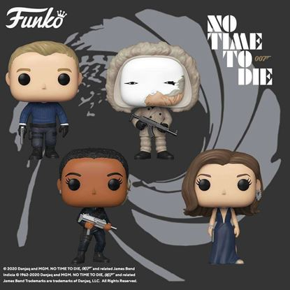 Picture of Pack 4 figuras James Bond: No Time to Die 9 cm. DISPONIBLE APROX: ENERO 2021