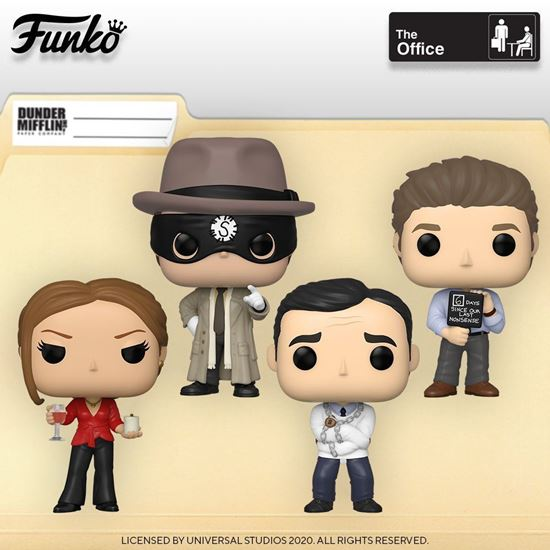 Picture of Pack 4  figuras POP! The Office 9 cm. DISPONIBLE APROX: ENERO 2021