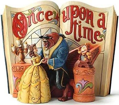 Picture of Figura Libro Bella y Bestia - Disney Traditions - Jim Shore