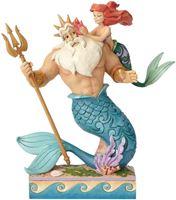 Picture of Figura Tritón y Ariel - Disney Traditions - Jim Shore