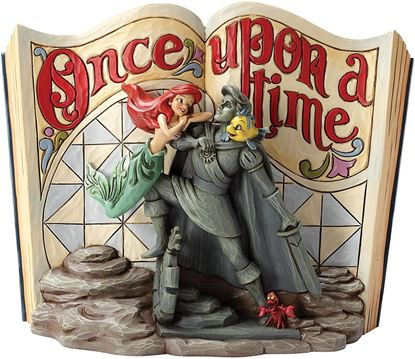 Picture of Figura Libro La Sirenita - Disney Traditions - Jim Shore
