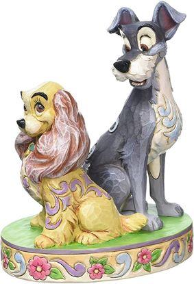 Picture of Figura La Dama y el Vagabundo 60 Aniversario - Disney Traditions - Jim Shore