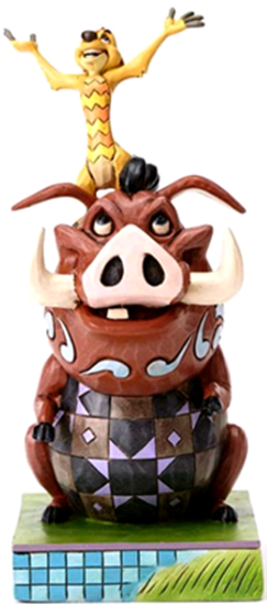 Picture of Figura Timón y Pumba - Disney Traditions - Jim Shore