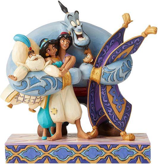 Picture of Figura Escena Aladdin - Disney Traditions - Jim Shore