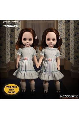 Picture of El resplandor Living Dead Dolls Set de 2 Muñecos con sonido The Grady Twins 25 cm
