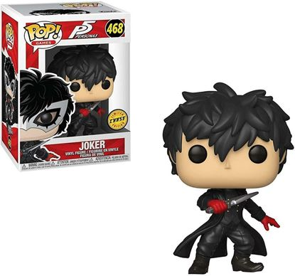 Picture of Persona 5 Funko Pop Joker (Unmasked) Chase