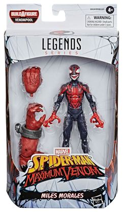 Picture of Marvel Legends Series Figuras 15 cm Venom 2020 Wave 1 MILES MORALES (SPIDER-MAN MAXIMUM VENOM