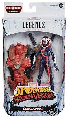Picture of Marvel Legends Series Figuras 15 cm Venom 2020 Wave 1 GHOST-SPIDER (SPIDER-MAN MAXIMUM VENOM)