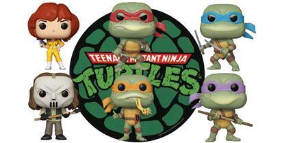 Picture of Tortugas Ninja POP! Television Vinyl  PACK