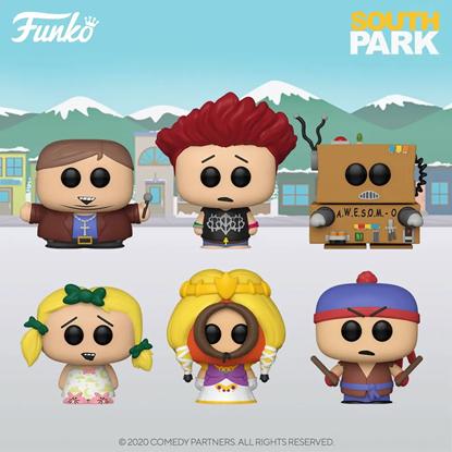 Picture of Pack 6 figuras POP! South Park 9 cm