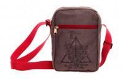 Picture of Harry Potter: Deathly Hallows Small Canvas Messenger Bag