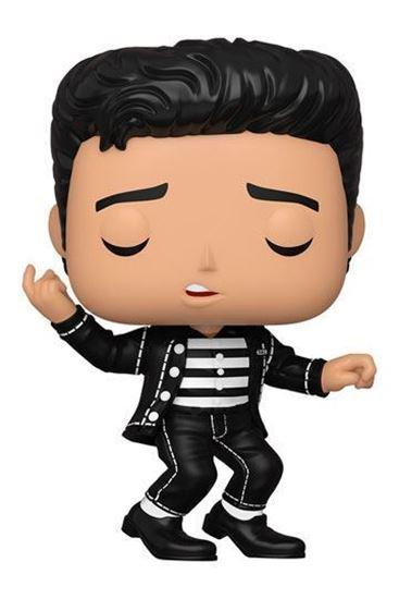 Picture of Elvis Presley POP! Rocks Vinyl Figura Elvis - Jailhouse Rock 9 cm