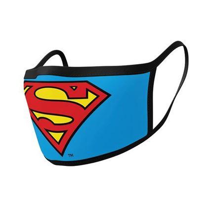 Picture of MASCARILLA DC COMICS SUPERMAN LOGO (2 UNIDADES)