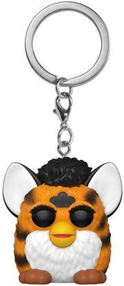 Picture of Furby Llaveros Pocket POP! Vinyl Tiger Furby 4 cm. DISPONIBLE APROX: FEBRERO 2021