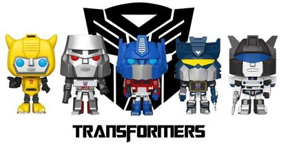 Picture of TRANSFORMERS PACK FUNKO POP DISPONIBLE APROX: 2/2021