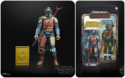 Picture of THE MANDALORIAN FIGURA 19 CM STAR WARS THE MANDALORIAN BLACK SERIES CREDIT COLLECTION