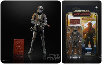 Picture of IMPERIAL DEATH TROOPER FIGURA 19 CM STAR WARS MANDALORIAN BLACK SERIES CREDIT COLLECTION