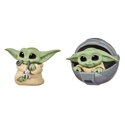 Picture of PACK THE CHILD BABY YODA COLGANTE+CUNA SET 2 FIGURAS 5,5CM STAR WARS THE BOUNTY COLLECTION