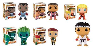 Picture of FUNKO POP PACK STREET FIGHTER