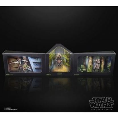 Picture of Hasbro Star Wars The Black Series Heroes of Endor Figures Exclusive