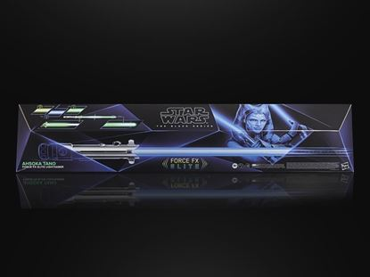 Picture of HASBRO Star Wars The Black Series Ahsoka Tano Force FX Elite Lightsaber
