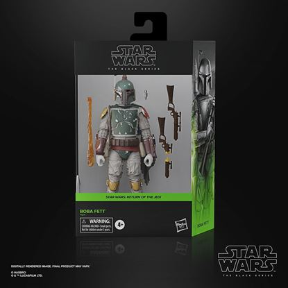 Picture of Star Wars Episode VI Black Series Figura Deluxe 2021 Boba Fett 15 cm