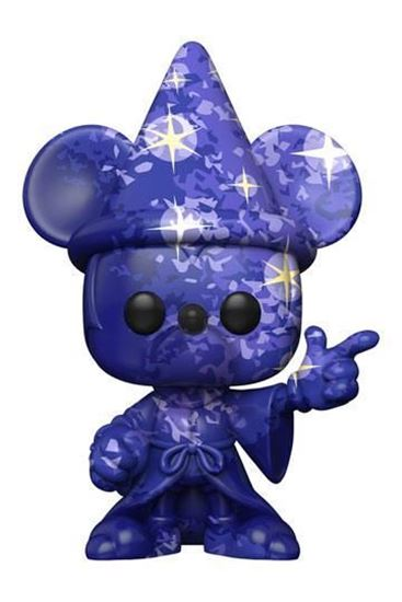 Picture of Fantasia 80th Anniversary POP! TV Vinyl Figura Sorcerer Mickey #1 (Art Series) with Pop Protector 9 cm