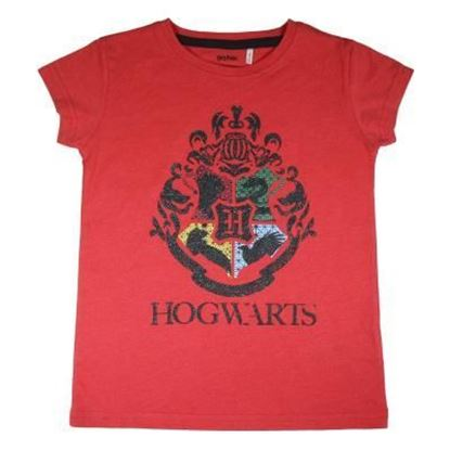 Picture of CAMISETA CORTA SINGLE JERSEY HARRY POTTER TALLA 12 AÑOS