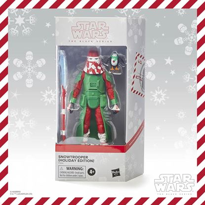 Picture of Star Wars Black Series Figura 2020 Snowtrooper (Holiday Edition) 15 cm