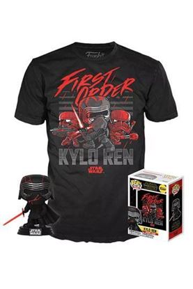 Picture of Star Wars Episode IX POP! & Tee Set de Minifigura y Camiseta Kylo Ren (Supreme Leader) heo Exclusive TALLA M