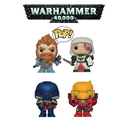 Picture of funko pop pack warhammer 40.000
