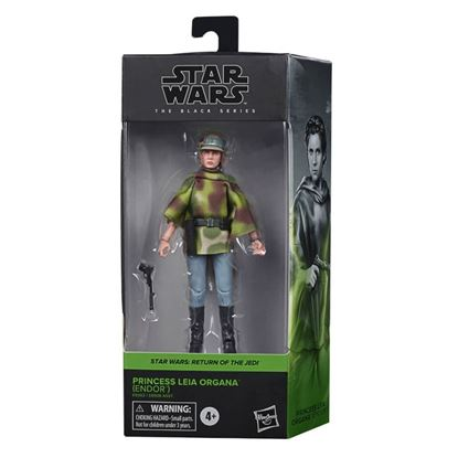 Picture of Star Wars Black Series Figuras 15 cm 2020 Wave 4 LEIA ENDOR