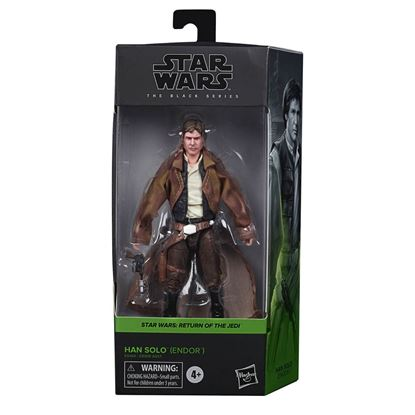 Picture of Star Wars Black Series Figuras 15 cm 2020 Wave 4  HAN SOLO ENDOR