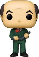 Picture of El juego de la sospecha (Cluedo) POP! Movies Vinyl Figura Mr. Green w/Lead Pipe 9 cm. DISPONIBLE APROX: MARZO 2021