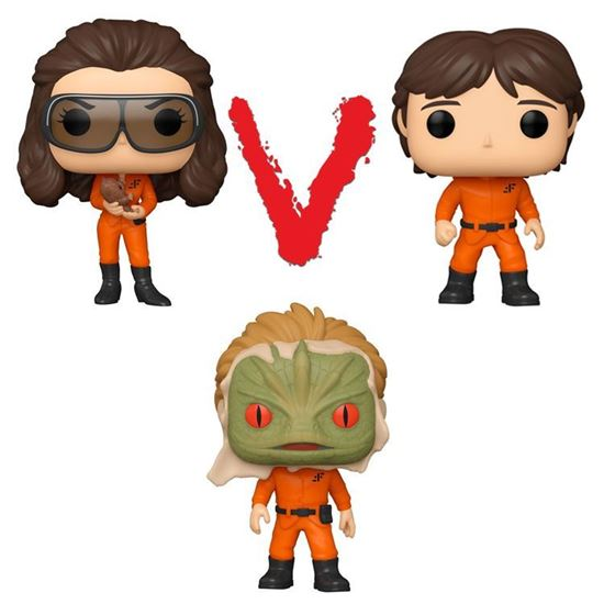 Picture of Pack 3 Figuras POP! V (Uve) 9 cm. DISPONIBLE APROX: MARZO 2021