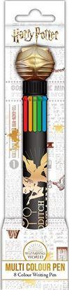 Picture of Bolígrafo 8 colores Snitch Dorada - Harry Potter