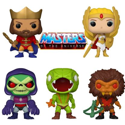 Picture of Pack 5 Figuras POP! Masters of the Universe 9 cm. DISPONIBLE APROX: ENERO 2021